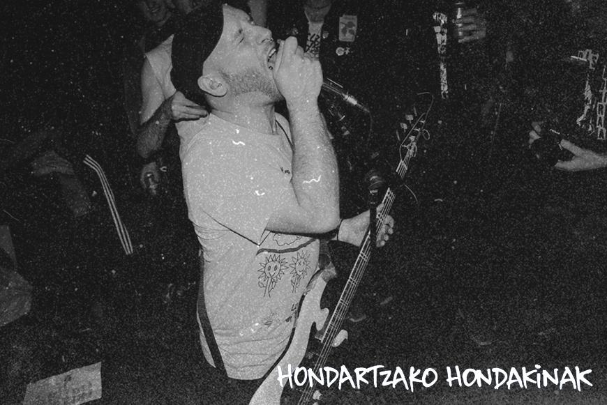 HONDARTZAKO HONDAKINAK - Bruiarta - LP - OUT NOW !