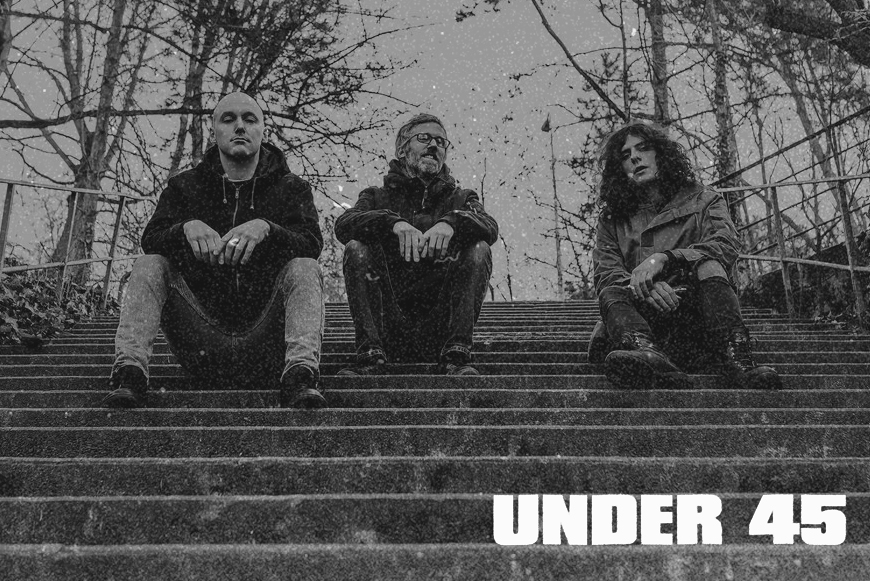 """UNDER 45 - Cancelled - 12"""" - OUT NOW !"""