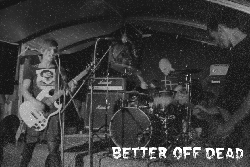 BETTER OFF DEAD - Taking Trains - LP - OUT NOW !