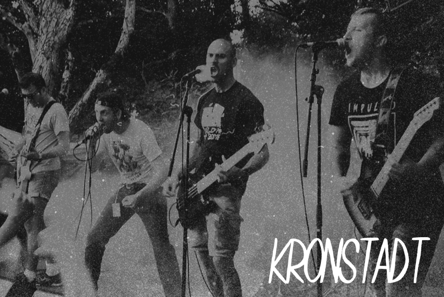 "KRONSTADT - S/t - 12"" - OUT NOW !"